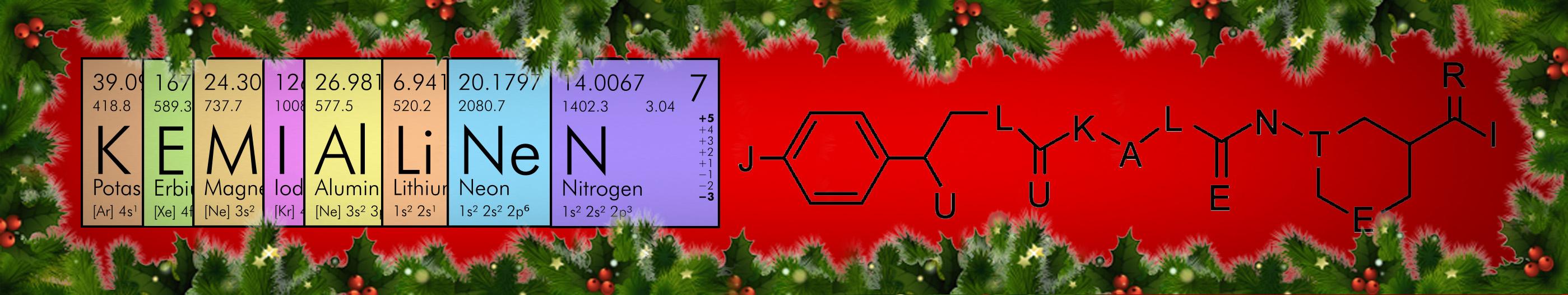 Kemiallinen joulukalenteri