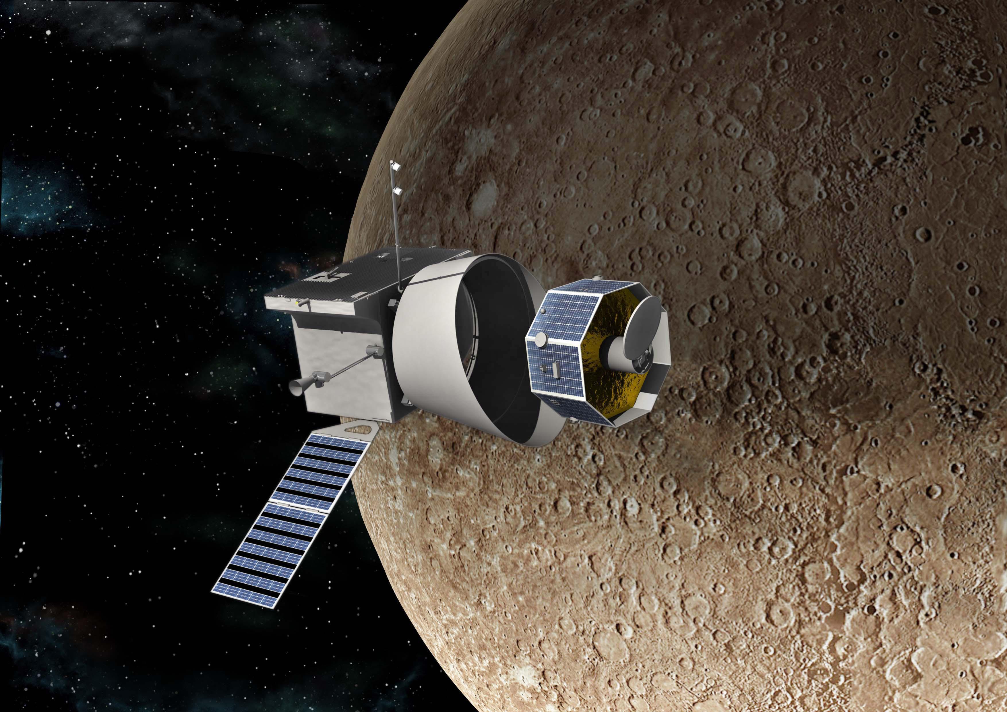 BepiColombo saapumassa Merkuriusta kiertämään