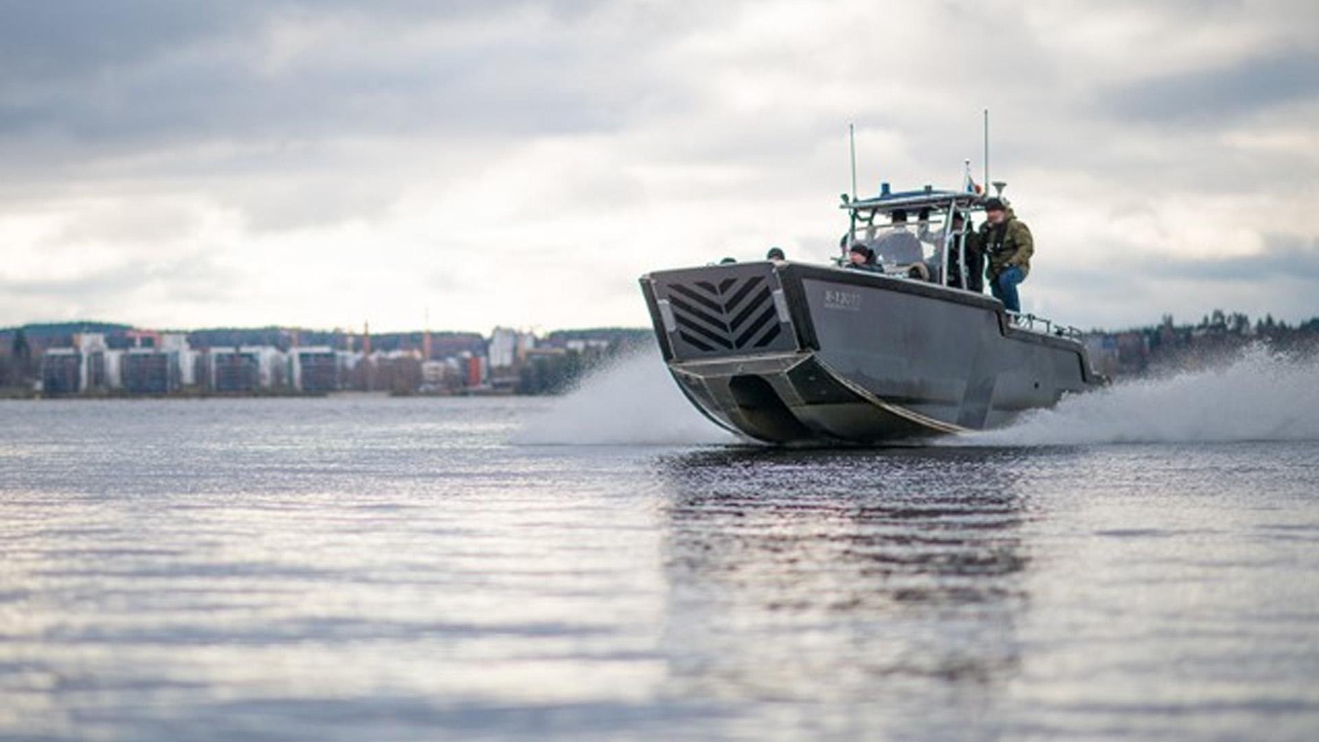Tampereen miehittämätön vene
