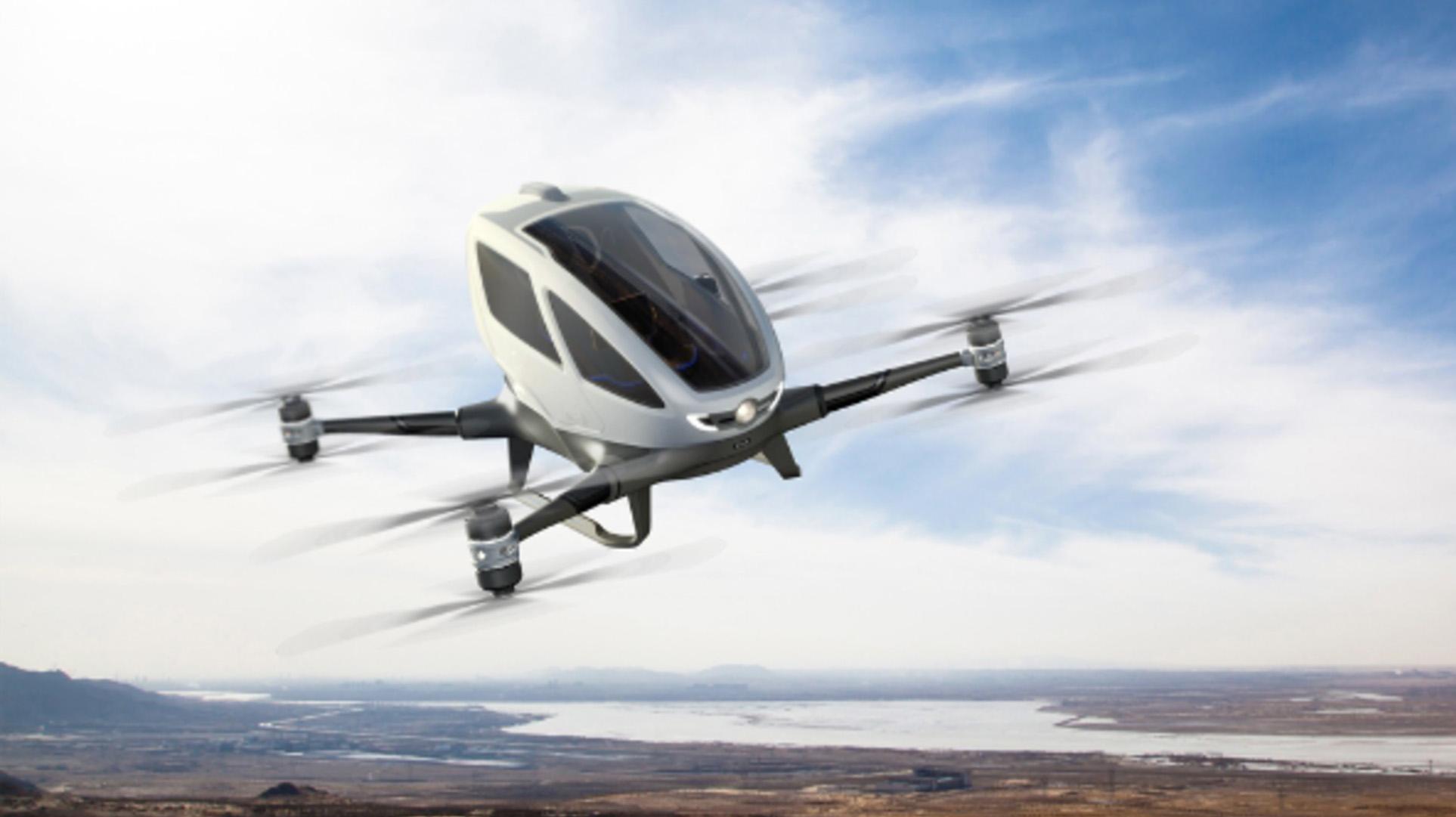 EHang 184 -nelikopteri