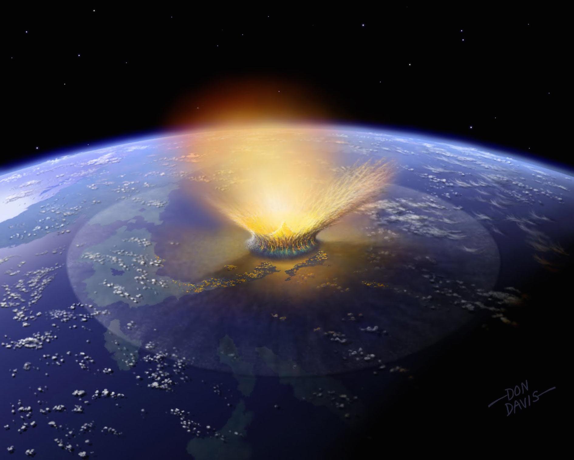 Asteroiditörmäys