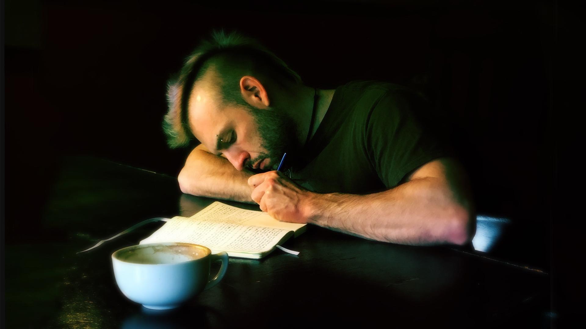Kirjoittamista. Kuva: flickr / Chris Blakeley