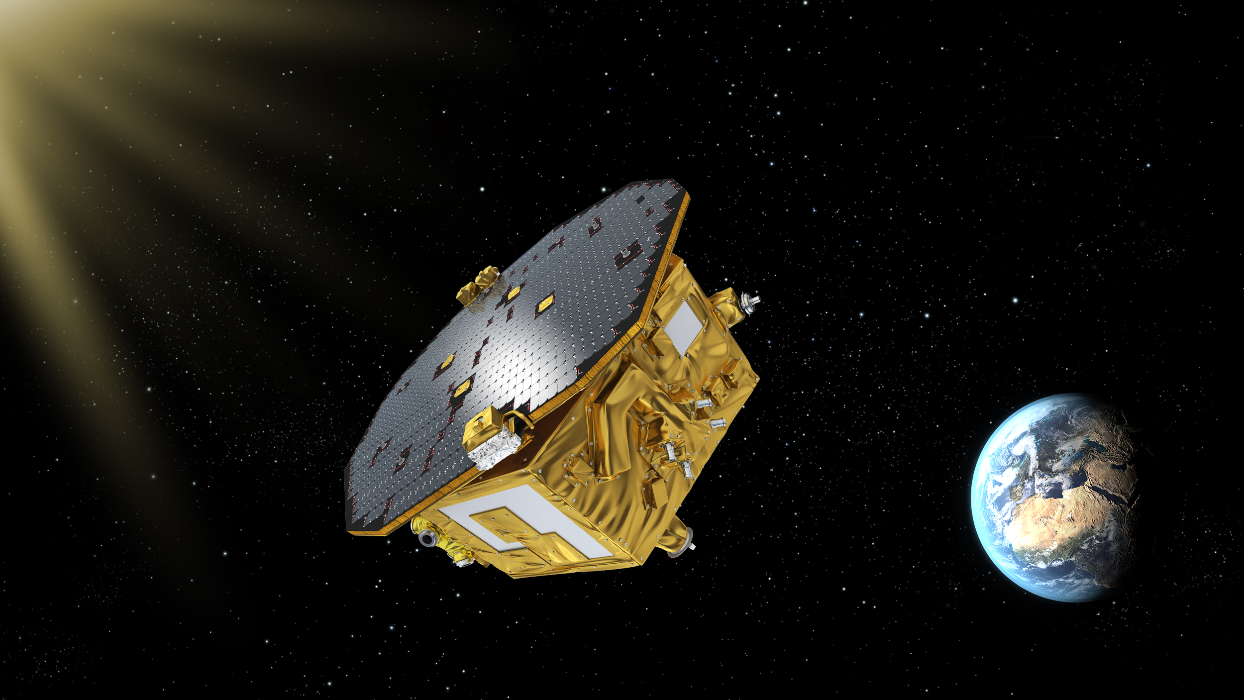 LISA Pathfinder avaruudessa