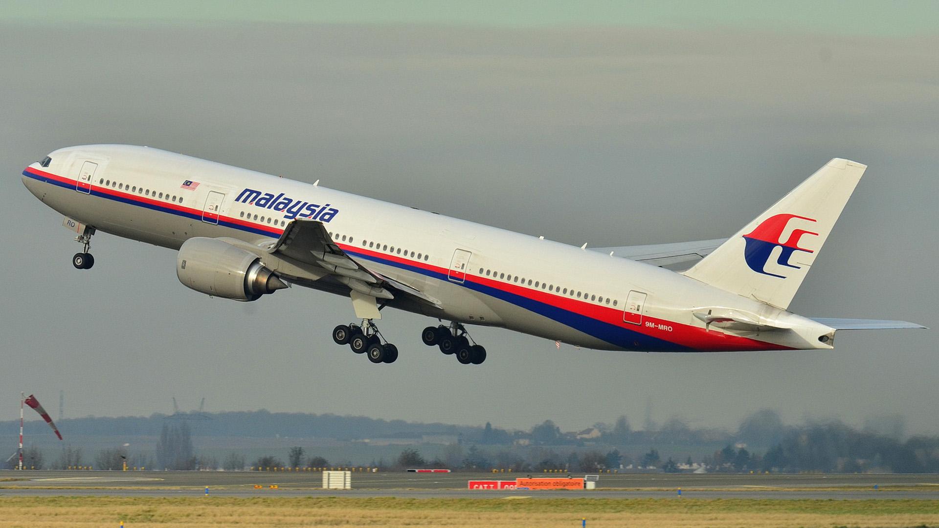 Malaysia Airlinesin Boeing 777, rekisteri 9M-MRO