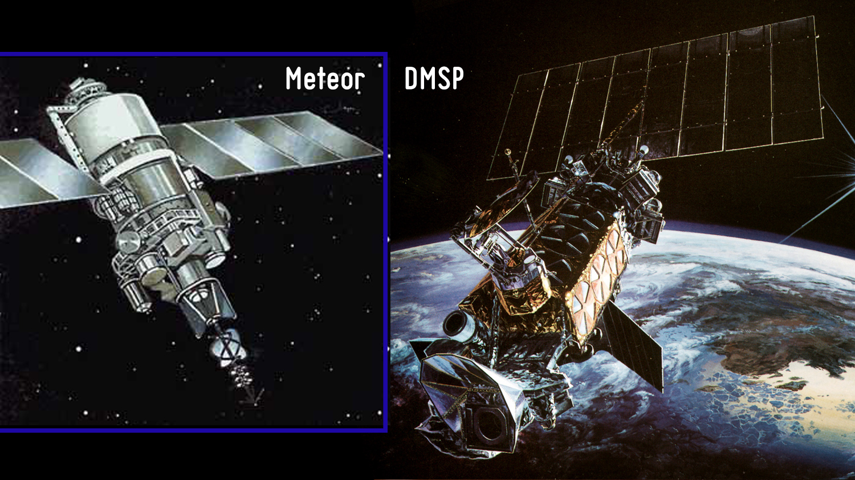 Meteor ja DMSP