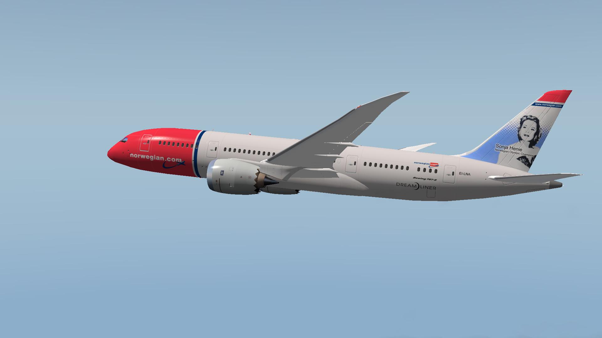 Norwegianin Boeing 787 Dreamliner
