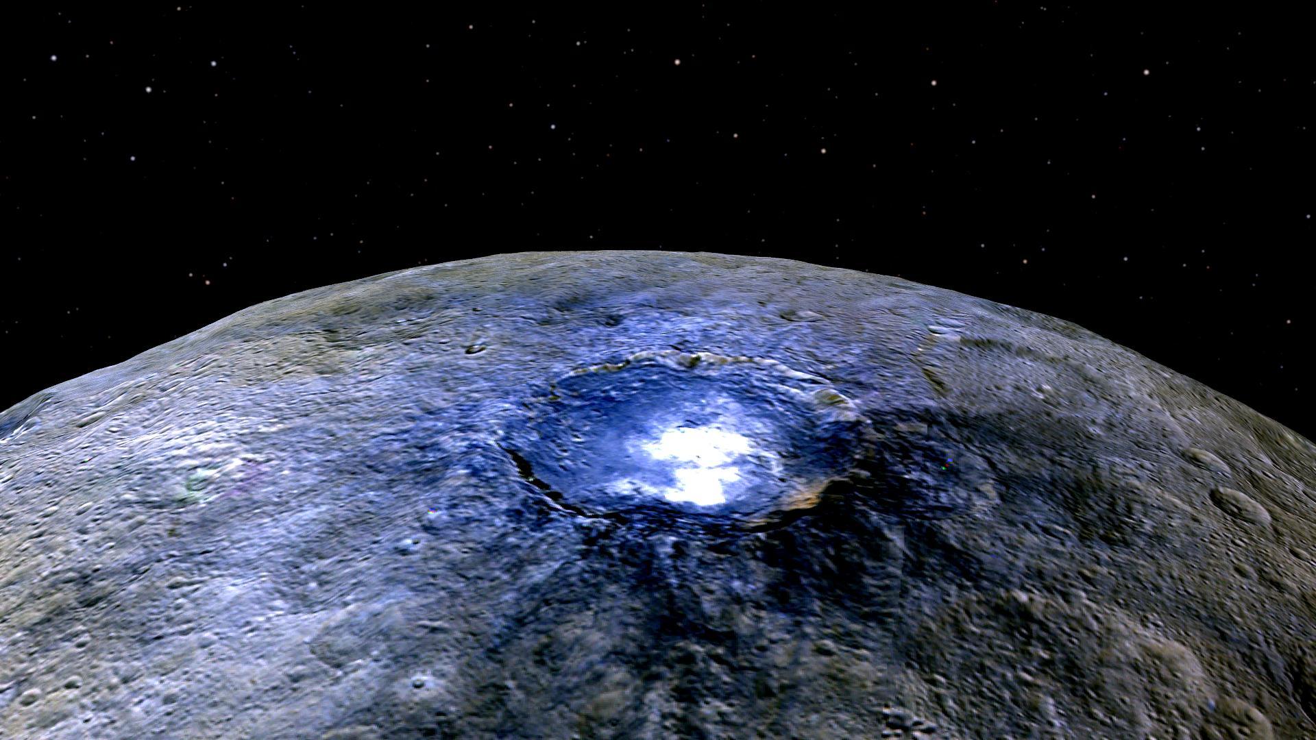 Ceres ja sen kirkas pilkku