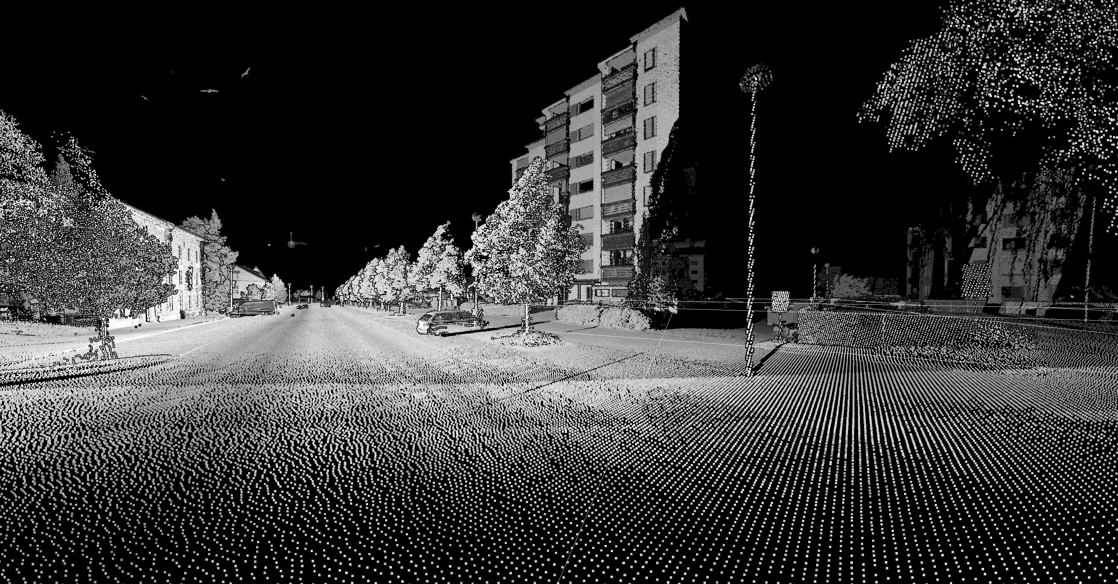 Näkymä 3D-skannattuna