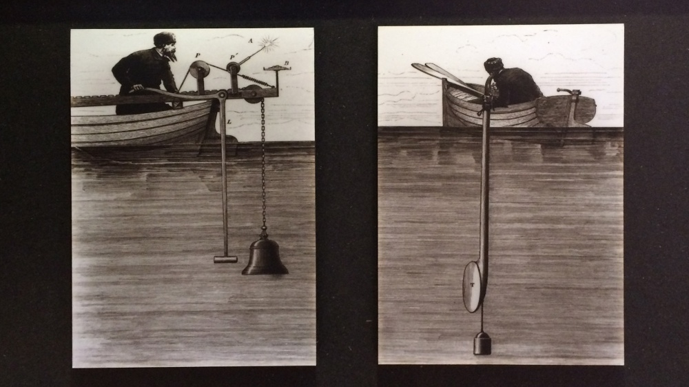 Colladonin ja Sturmin vedenalaisia äänimittauksia
