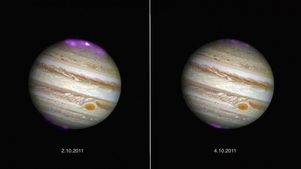 Jupiterin revontulet