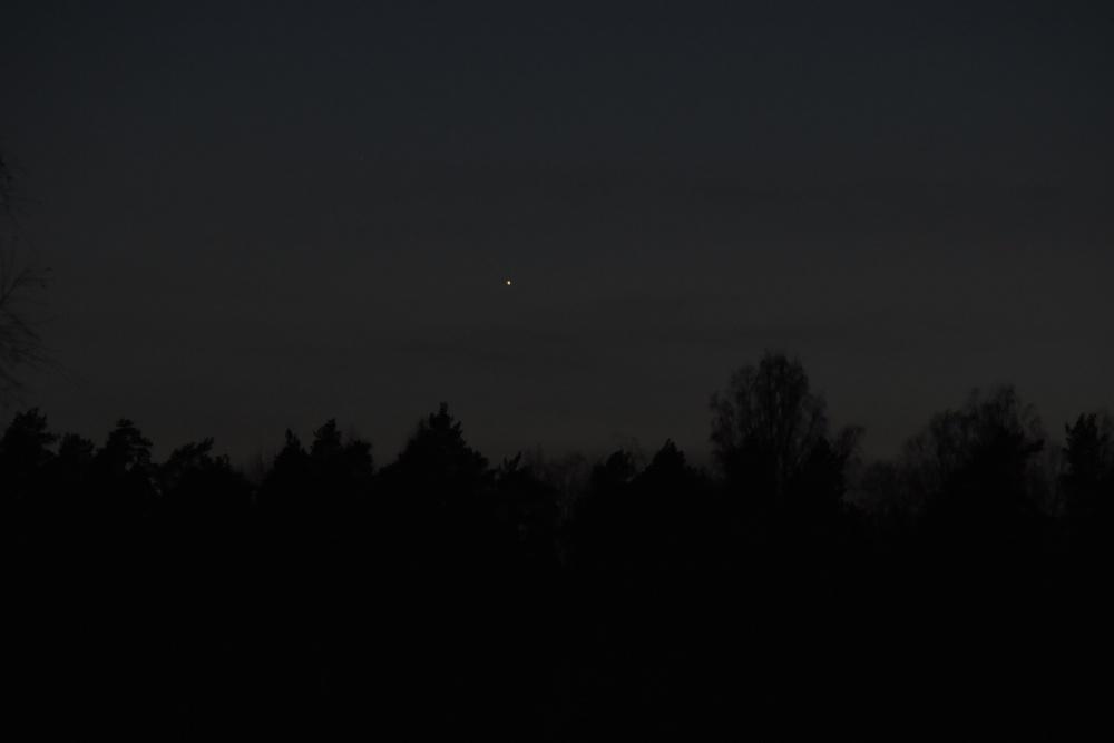 Merkurius iltataivaalla
