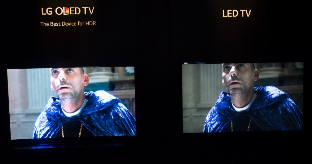 OLED vs. tavallinen LED