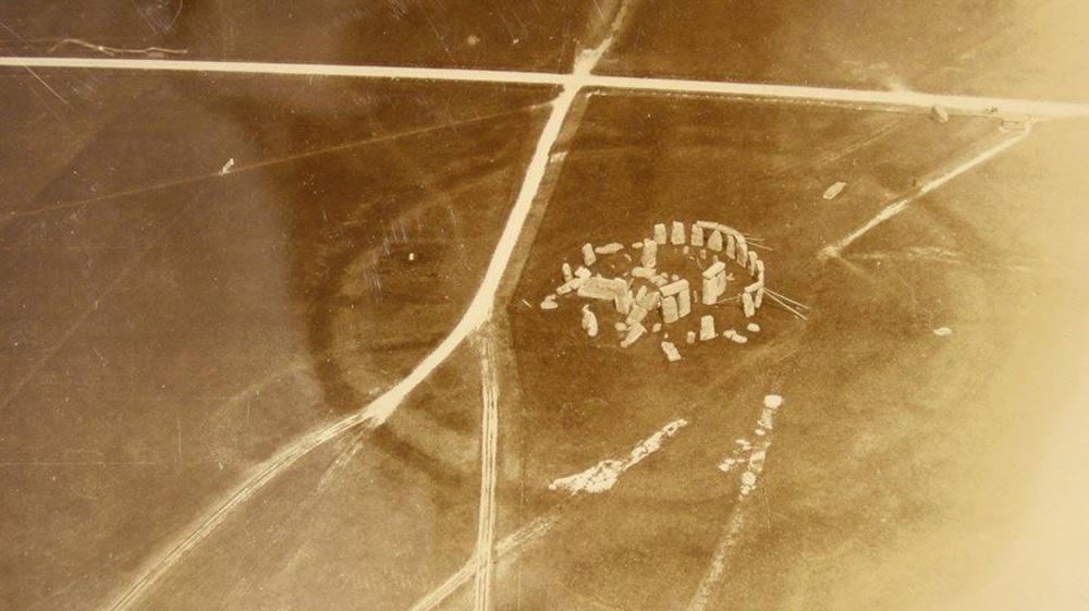 Ensimmäinen ilmakuva Stonegengestä