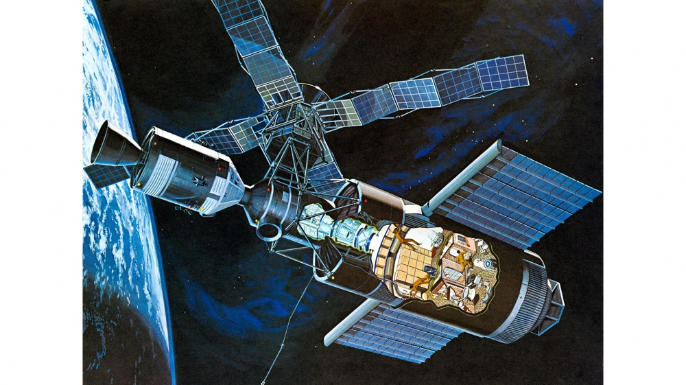 Skylabin halkileikkaus